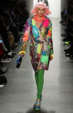STELLA MAXWELL on the Runway of Jeremy Scott Fashion Show in New York 02/08/2018