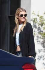STELLA MAXWELL Out Shopping on Melrose in Los Angeles 02/05/2018