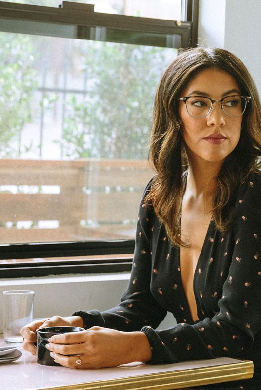 Stephanie Beatriz For David Kind Eyewear February 2018