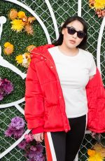 STEPHANIE VILLA at Revolve x Nike 1s Reimagined Pop-up Event in Los Angeles 02/16/2018
