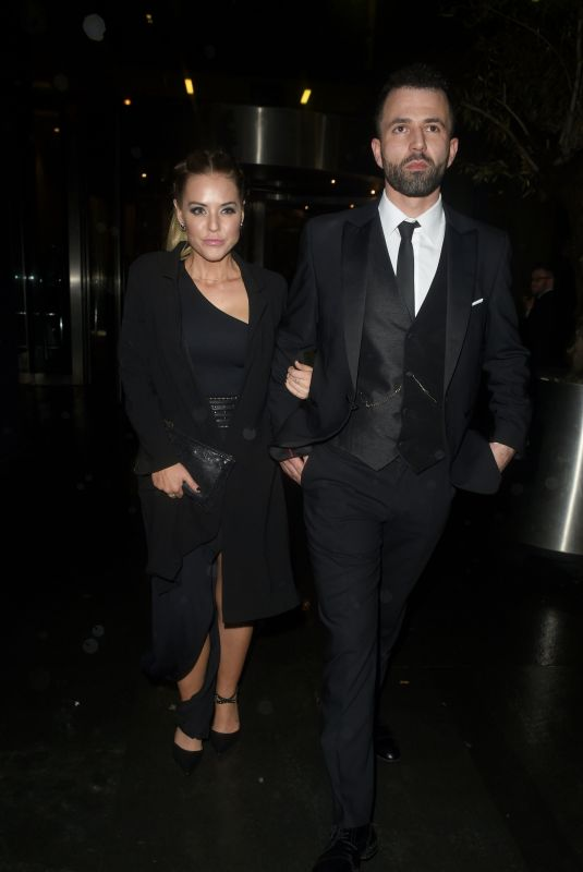 STEPHANIE WARING Leaves Kym Marsh Footprint Charity Ball in Manchester 02/10/2018