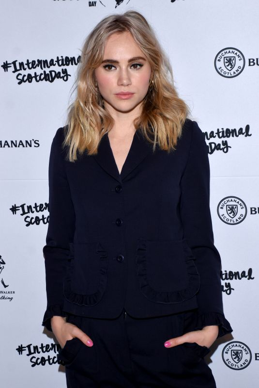 SUKI WATERHOUSE at International Scotch Day at Antiguo Reforma Hotel in Mexico City 02/09/2018