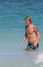 SUSAN HOLMES in Bikini and Duff McKegan at a Beach in Tulum 02/04/2018