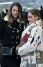 SUTTON FOSTER and HILLARY DUFF on the Set of Younger in New York 02/25/2018