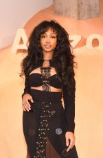 SZA at Proenza Schouler Fragrance Party at New York Fashion Week 02/10/2018