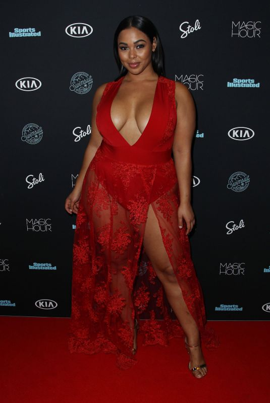 TABRIA MAJORS at Sports Illustrated Swimsuit Issue 2018 Launch in New York 02/14/2018