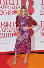 TALLIA STORM at Brit Awards 2018 in London 02/21/2018