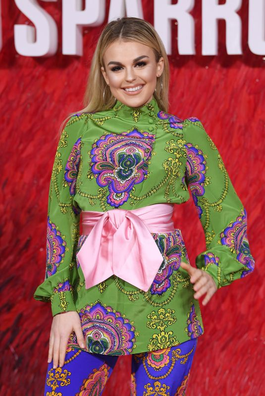 TALLIA STORM at Red Sparrow Premiere in London 02/19/2018