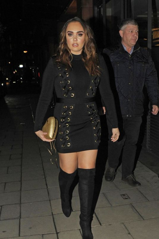 TAMARA ECCLESTONE at C London Restaurant in Mayfair 01/31/2018