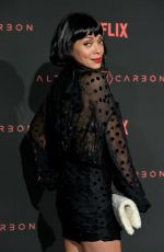 TAMARA TAYLOR at Altered Carbon Premiere in Los Angeles 02/01/2018