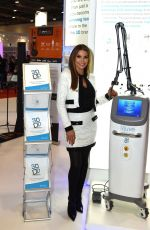 TANYA BARDSLEY at Professional Beauty Exhibition in London 02/25/2018
