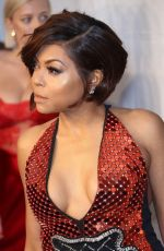 TARAJI P. HENSON at Amfar Gala 2018 in New York 02/07/2018
