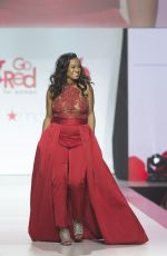 TATYANA ALI at Red Dress 2018 Collection Fashion Show in New York 02/08/2018