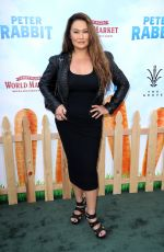 TIA CARRERE at Peter Rabbit Premiere in Los Angeles 02/03/2018