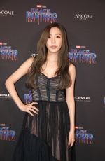 TIFFANY HWANG at Black Panther Welcome to Wakanda NYFW Showcase in New York 02/12/2018