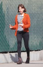 TILDA COBHAM-HERVEY Out and About in Hollywood 02/15/2018