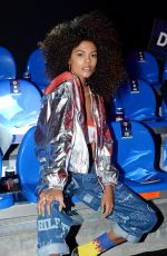 TINA KUNAKEY at Tommy Hilfiger Fashion Show in Milan 02/25/2018
