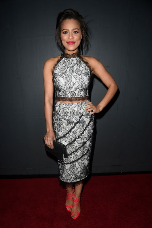 TISH MERRY at Kym Marsh Footprint Charity Ball in Manchester 02/10/2018