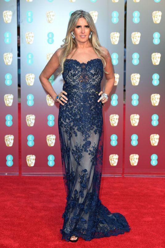 TIZIANA ROCCA at BAFTA Film Awards 2018 in London 02/18/2018