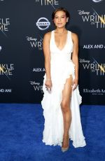 TONI TRUCKS at A Wrinkle in Time Premiere in Los Angeles 02/26/2018
