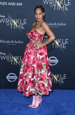 TRACEE ELLIS ROSS at A Wrinkle in Time Premiere in Los Angeles 02/26/2018