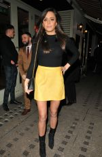 TYLA CARR Leaves Bunga Bunga Anniversary Party in London 01/31/2018