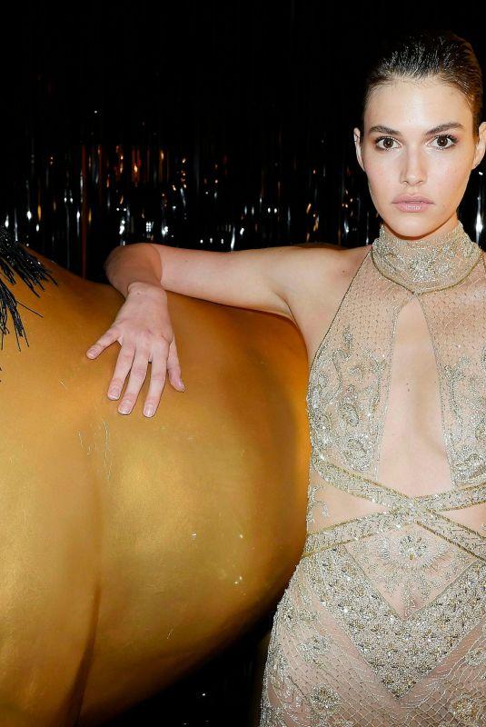 VANESSA MOODY at Bergdorf Goodman x Dundas Party at New York Fashion Week 02/09/2018
