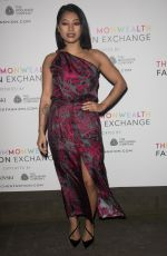 VANESSA WHITE at Commonwealth Fashion Exchange VIP Preview in London 02/22/2018