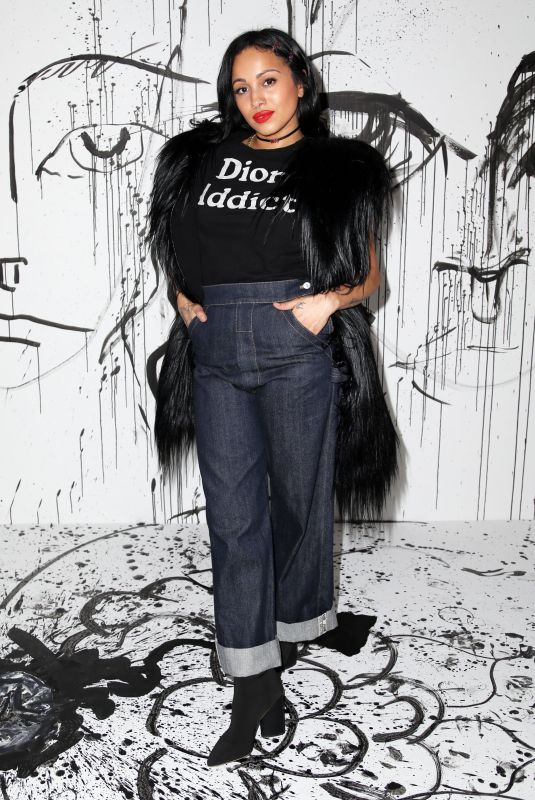 VENUX X at Dior Collection Launch Party at Spring/Summer 2018 New York Fashion Week 02/06/2018