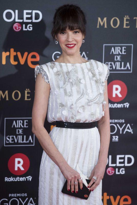 VERONICA SANCHEZ at 32nd Goya Awards in Madrid 02/03/2018