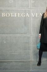 VERONIKA HEILBRUNNER at Bottega Veneta Show at New York Fashion Week 02/09/2018