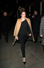VICKY MCCLURE at Dunhill and GQ Pre-bafta Filmmakers Dinner Party in London 02/15/2018
