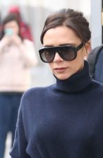 VICTORIA BECKHAM in Jeans Out in New York 02/09/2018