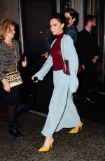 VICTORIA BECKHAM Leaves Her Hotel in New York 20/11/2018