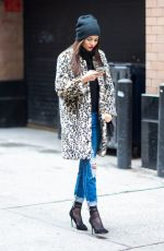 VICTORIA JUSTICE Out and About in New York 02/11/2018