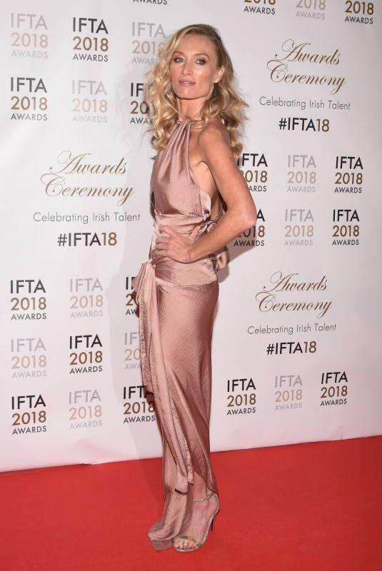 VICTORIA SMURFIT at IFTA Film & Drama Awards 2018 in Dublin 02/15/2018