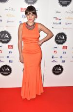 VIKKI STONE at Whatsonstage Awards in London 02/25/2018