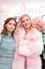 VIOLETTA KOMYSHAN at Amo Ferragamo Hosted by Suki Waterhouse at New York Fashion Week 02/06/2018