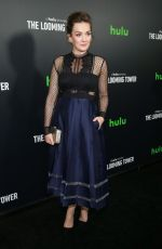 VIRGINA KULL at The Looming Tower Premiere in New York 02/15/2018