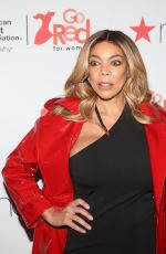 WENDY WILLIAMS at Go Red for Women Red Dress Collection 2018 Presented by Macy's in New York 02/08/2018