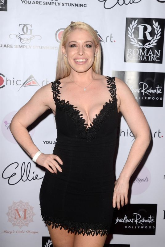WHITNEY BOWERS at 4th Annual Roman Media Pre-Oscars Event in Hollywood 02/26/2018