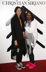 WHOOPI GOLDBERG at Christian Siriano Fashion Show at NYFW in New York 02/10/2018