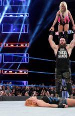 WWE - Mixed Match Challenge - Alexa Bliss & Stroman vs Becky Lynch & Zayn
