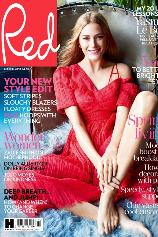 YASMIN LE BON in Red Magazine, UK March 2018 Issue