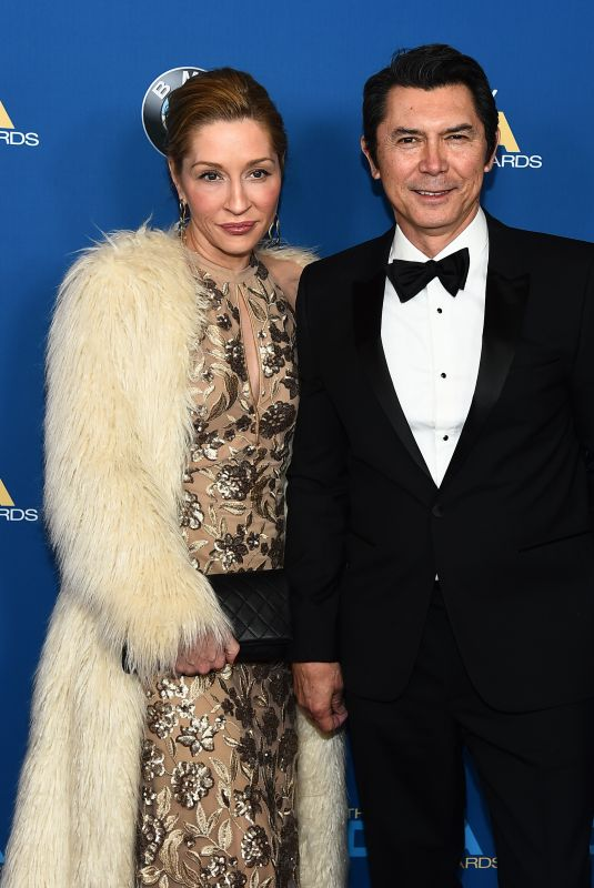 YVONNE PHILLIPS and Lou Diamond Phillips at 2018 Directors Guild Awards in Los Angeles 02/03/2018