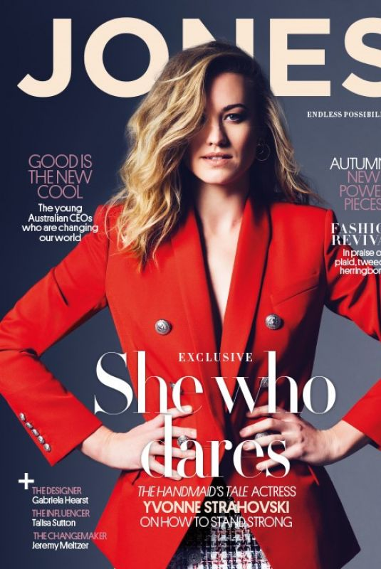 YVONNE STRAHOVSKI in Jones Magazine, February 2018