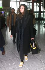 ZENDAYA COLEMAN Arrives at Heathrow Airport in London 02/19/2018
