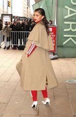 ZENDAYA COLEMAN Arrives at Michael Kors Fashion Show in New York 02/14/2018