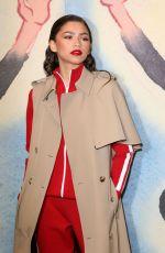 ZENDAYA COLEMAN at Michael Kors Show at New York Fashion Week 02/14/2018