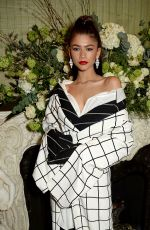 ZENDAYA COLEMAN at Vogue x Tiffany & Co Bafta Afterparty in London 02/18/2018